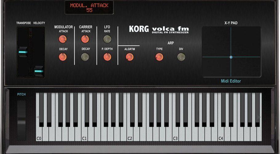 Momo Volca FM editor