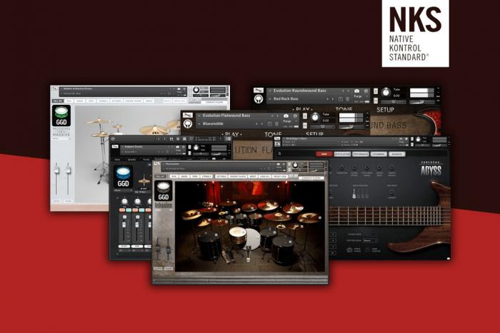 NI Heavyweight Bass & Drums NKS