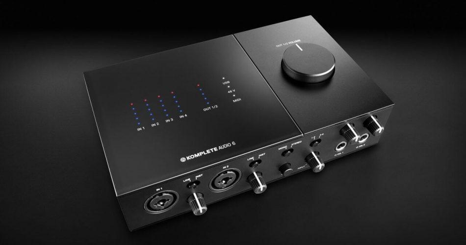 NI Komplete Audio 6 interface
