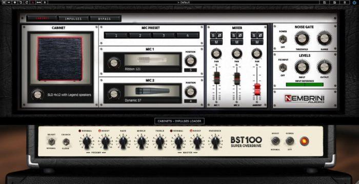 Nembrini Audio BST100 cabinets