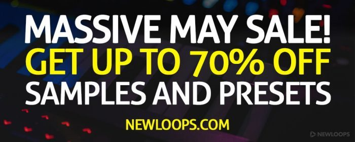New Loops Massive May Sale Banner