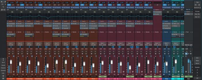 PreSonus Studio One 4.5 Console with HW controls
