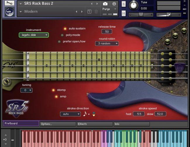 Prominy SR5 Rock Bass 2