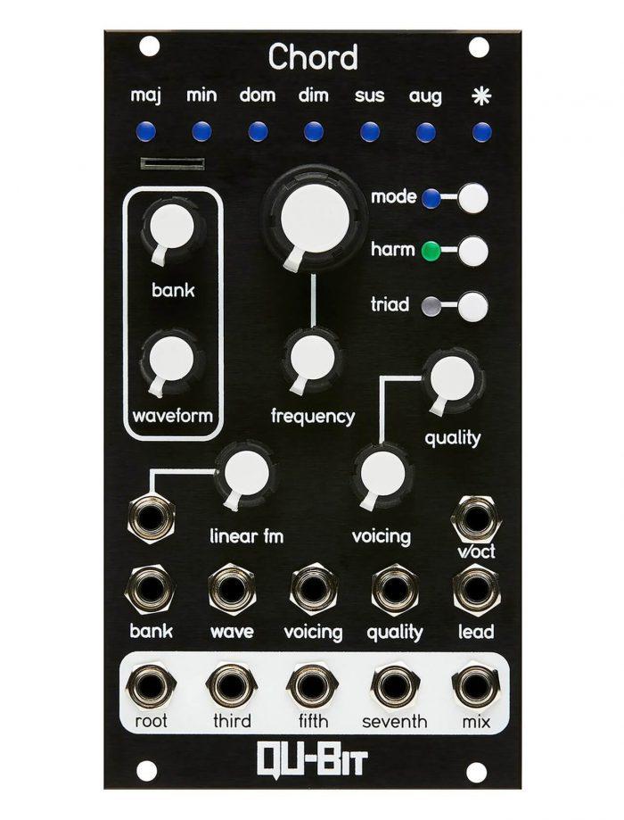 Qu Bit Chord v2 Eurorack module