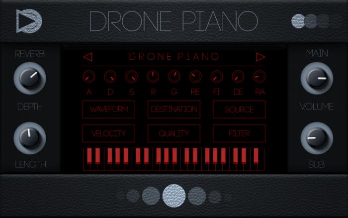 SampleScience Drone Piano