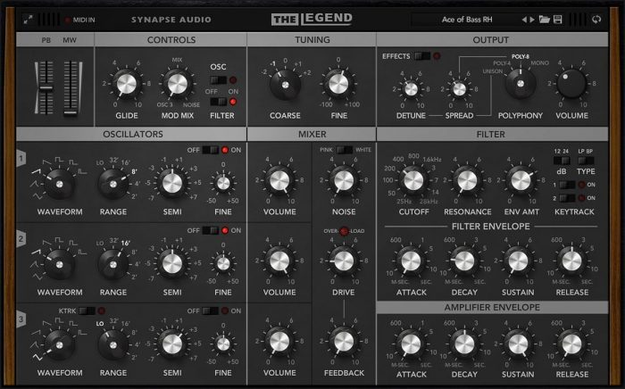 Synapse Audio The Legend 1.3