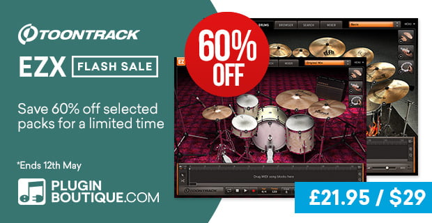 Toontrack EZX Flash Sale