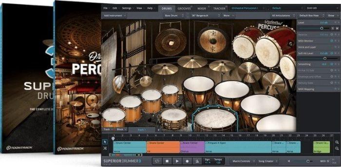 Toontrack Superior Drummer 3 Orchestral Edition bundle