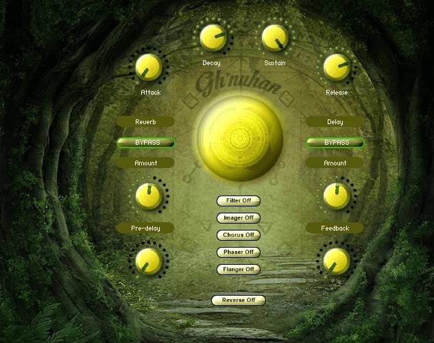 Triple Spiral Audio Ghnuhan
