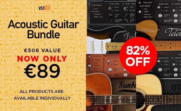 VST Buzz Acoustic Guitar Bundle