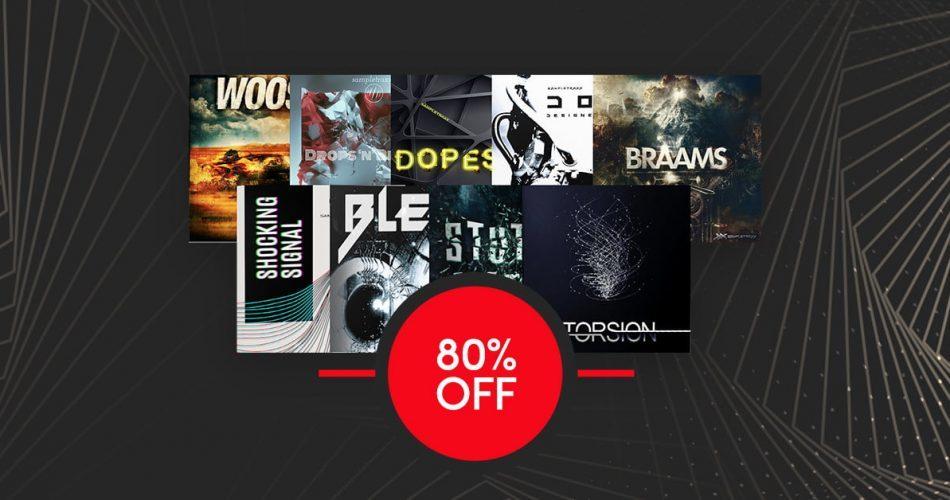 Get 80% off SampleTraxx Cinematic Bundle