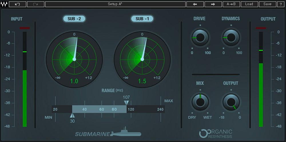 Waves Audio launches Submarine two-octave subharmonic generator plugin