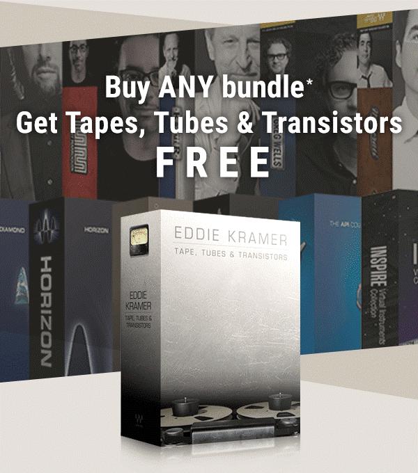 Waves Tapes Tubes Transistors FREE with bundle