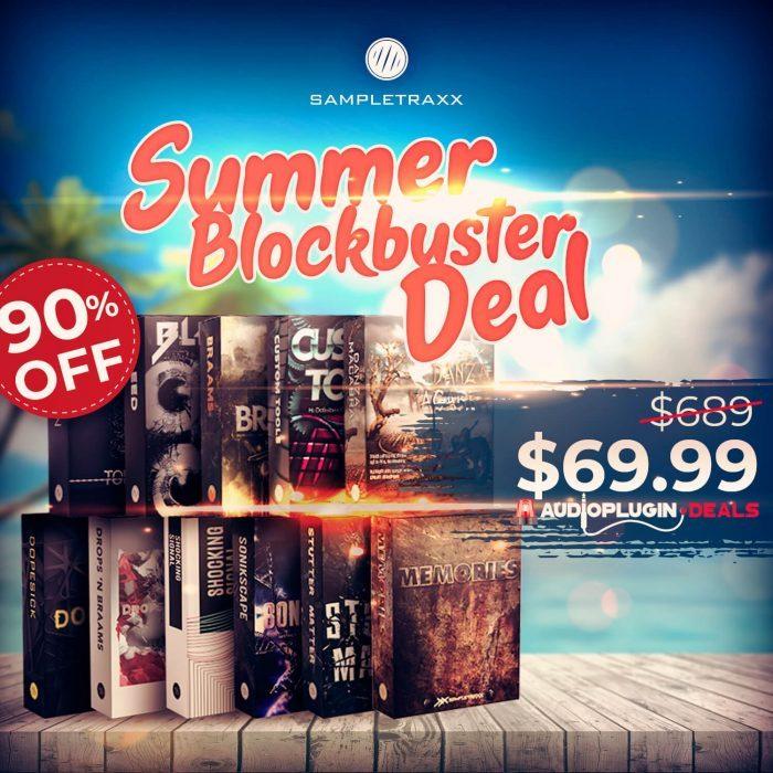 APD Sampletraxx Summer Blockbuster Deal