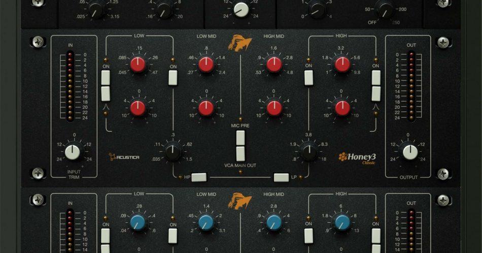 Acustica Audio Honey3