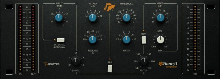 Acustica Audio Honey3 Compressor
