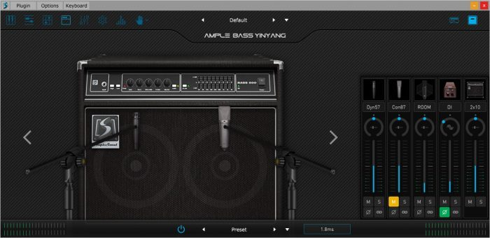 Ample Sound Amp and mics
