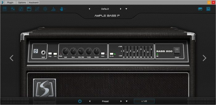 Ample Sound Amp bass 500