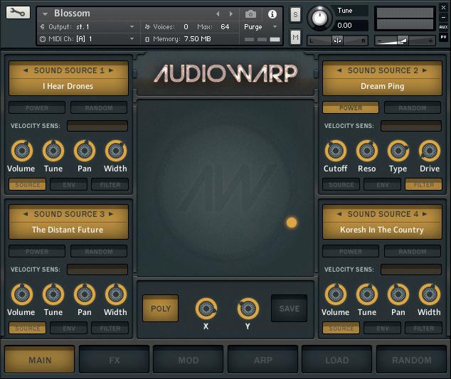 Kontakt Hub releases Blossom instrument library for Kontakt from Audiowarp