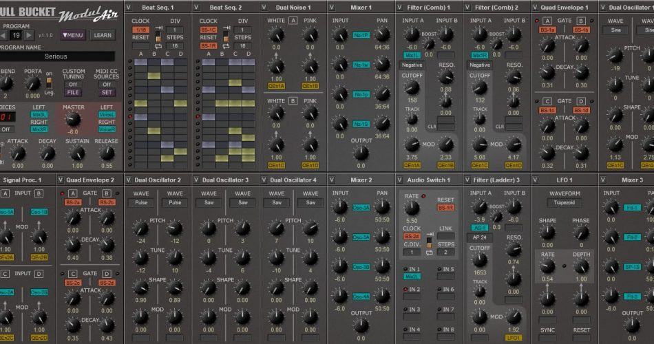 Full Bucket Music ModulAir 1.1.0