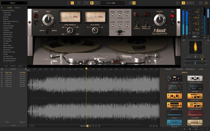 IK Multimeda T-RackS 5 Tape Machine Collection