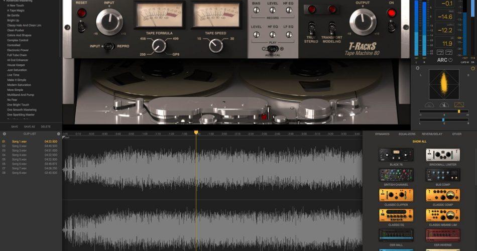 IK Multimeda T RackS 5 Tape Machine Collection