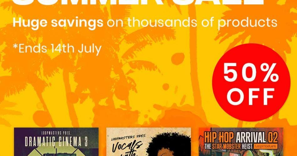 Loopmasters Summer Sale 2019