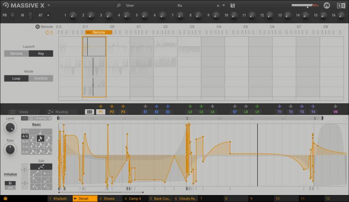 NI Massive X Performer - Remote Editor