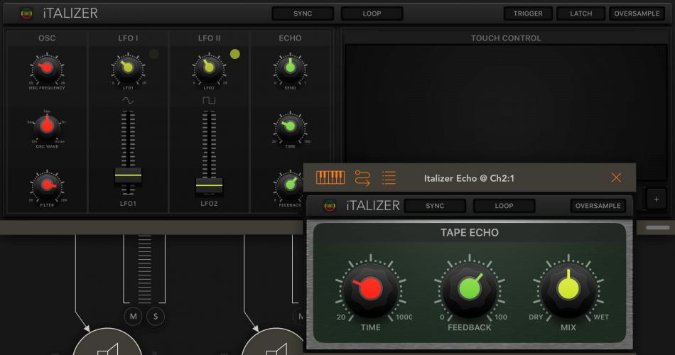 Numerical Audio Italizer
