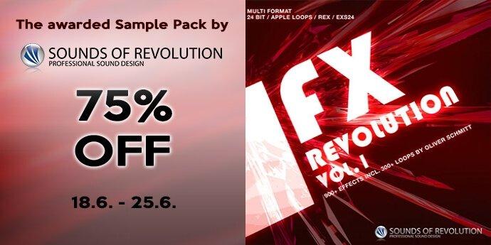 Resonance Sound SOR FX Revolution 75 OFF