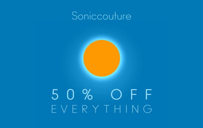 Soniccouture 50 OFF Midsummer Sale