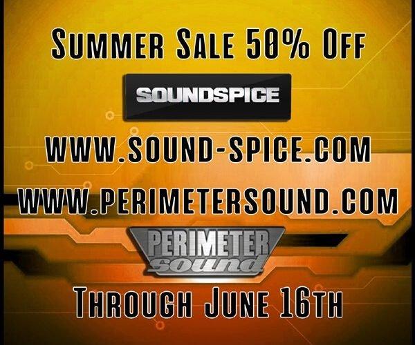 SoundSpice Perimeter Sound Summer Sale 2019