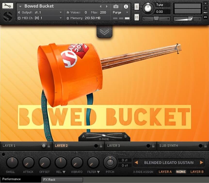 Soundiron Bowed Bucket
