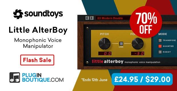 Soundtoys Little AlterBoy Flash Sale