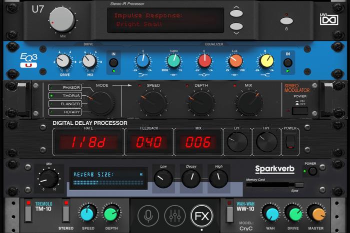 UVI Key Suite Electric GUI FX