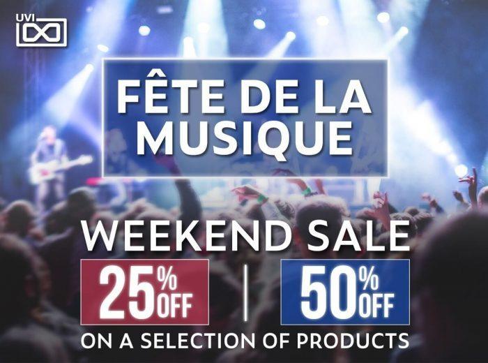 UVI Make Music Day Sale