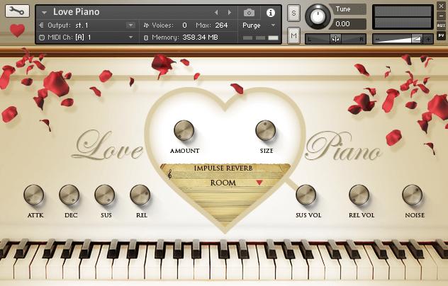 VST Buzz Love Piano