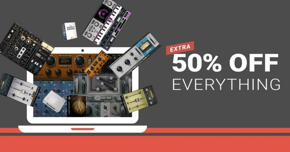 Waves Audio 50 OFF Sale Banner
