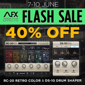 XLN Audio Flash Sale 40 OFF