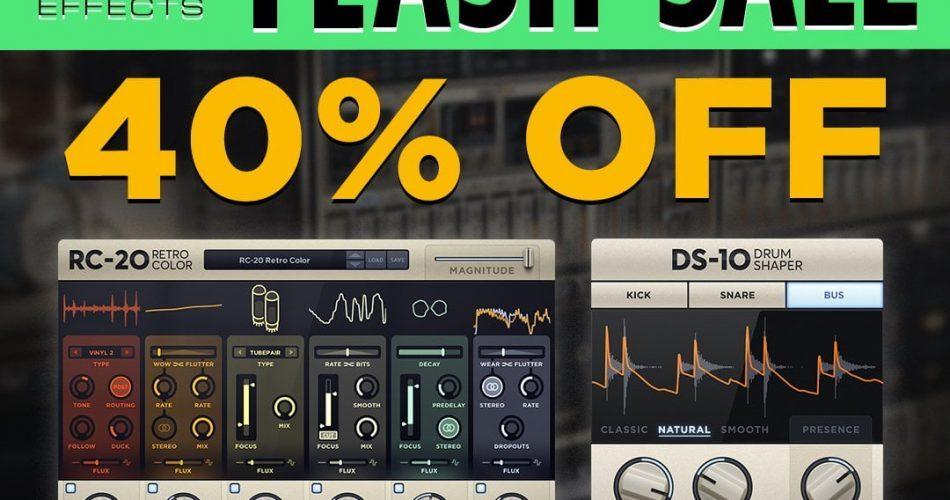 XLN Audio Flash Sale 40 OFF
