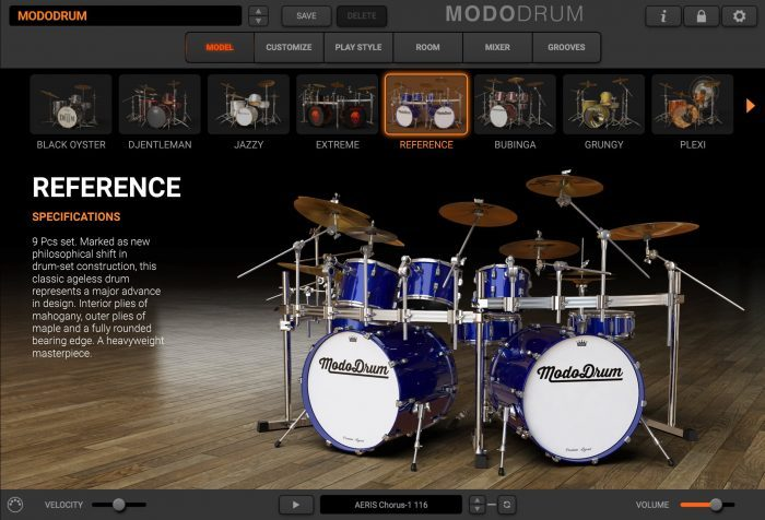 main modo drum reference HQ
