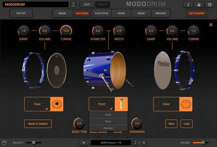 modo drum customize kick reference