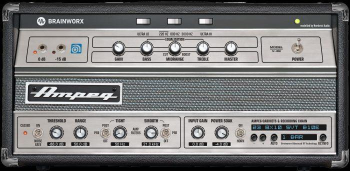 Ampeg V4B Amp Rack