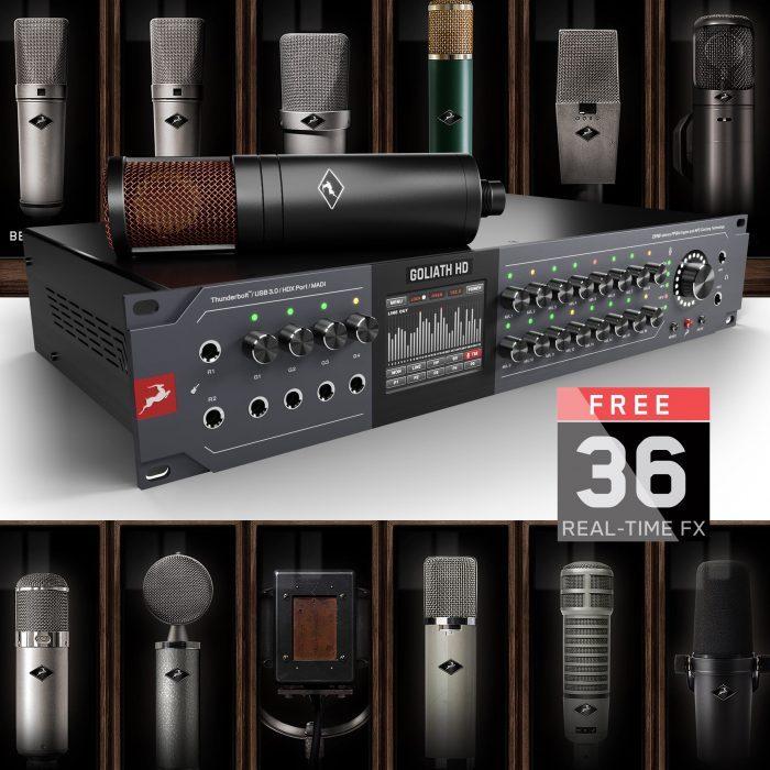 Antelope Audio Goliath HD Gen 3 Egde Duo