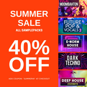 Audentity Records Summer Sale 40 OFF