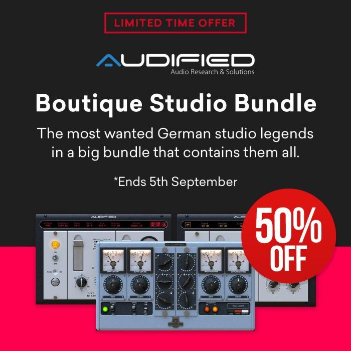 Audified Boutique Studio Bundle 50 OFF