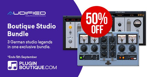 Audified Boutique Studio Bundle sale