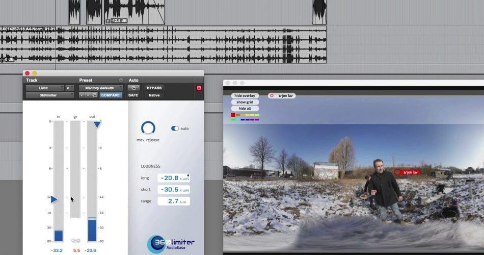 Audio Ease 360pan suite limiter