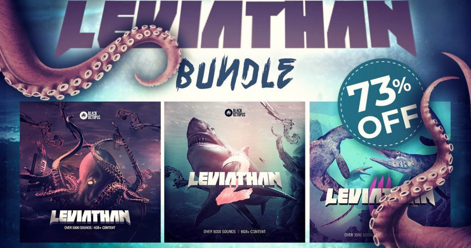 Audio Plugin Deals Black Octopus Leviathan Bundle