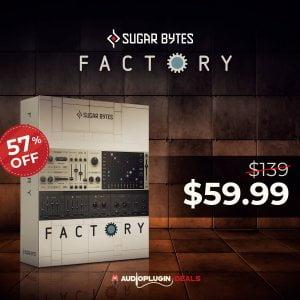 Audio Plugin Deals Factory by Sugar Bytes